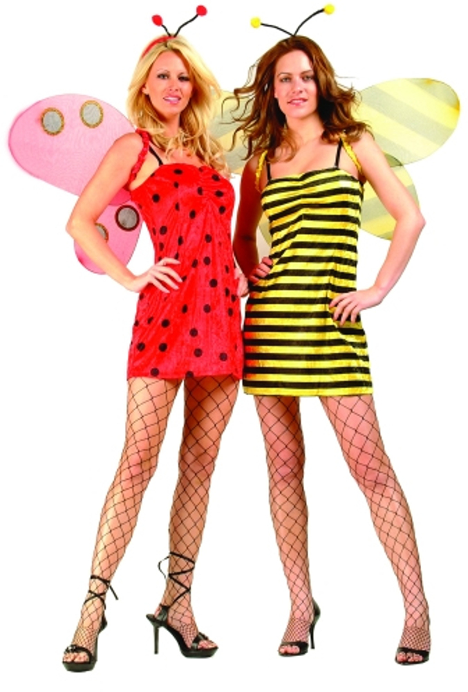 Adult Reversible Ladybug & Bumble Bee Costume
