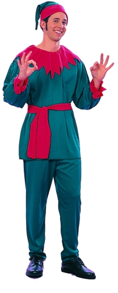 Adult Santa's Elf Helper Costume