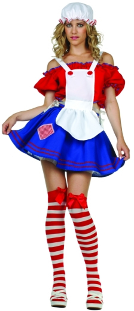 Adult Sexy Rag Doll Costume