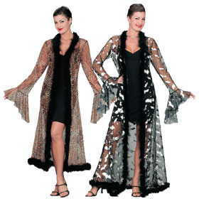 adult sheer robes
