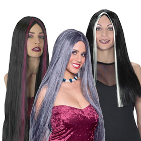 Adult Straight Witch Wigs