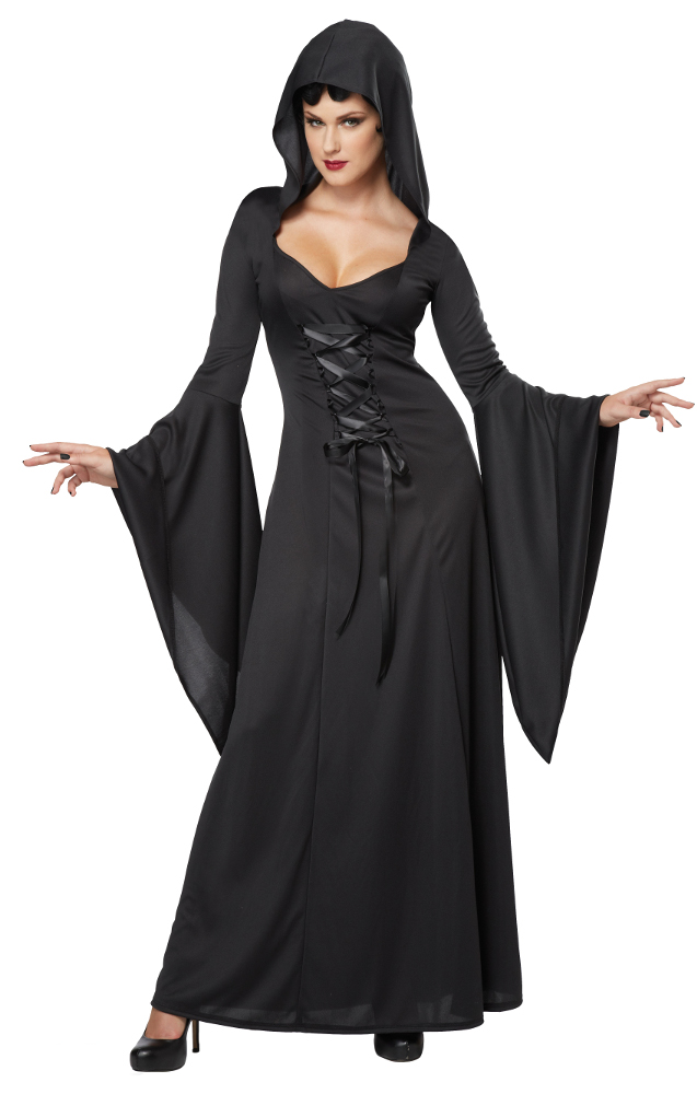 Adult Deluxe Hooded Robe Costume