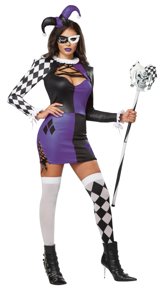 Adult Naughty Jester Costume
