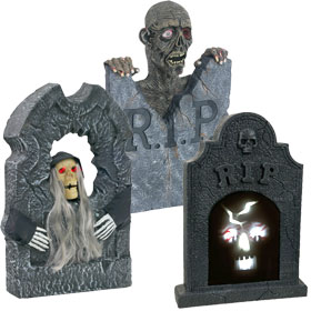 Animated Tombstones