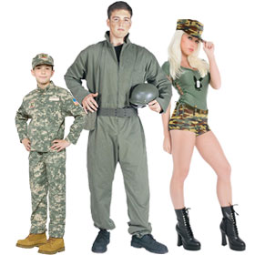 Army Soldier Costumes