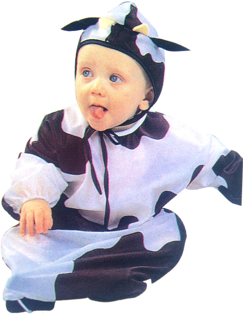 Baby Lil' Cow Buntings Costume