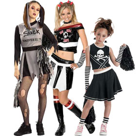 Bad Spirit Cheerleader Costumes