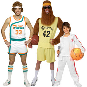 Basketball Player Costumes