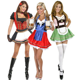 Gretel Swiss German Oktoberfest Beer Garden Dress Up Halloween Adult Costume