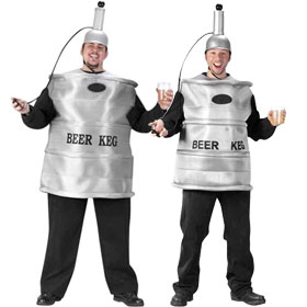 Beer Keg Costumes
