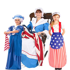 Betsy Ross Costumes