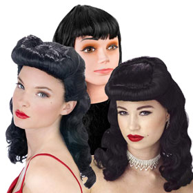 Pin-Up Girl Wigs