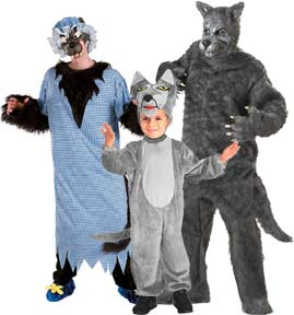 Big Bad Wolf Costumes