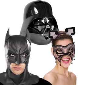 Black Costume Masks