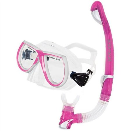 Body Glove EVX Adult Women's Mask and Snorkel Combo
