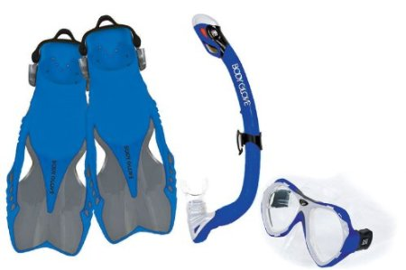 Body Glove Jr. Abuka Mask, Snorkel and Fins Set