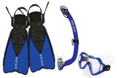 Body Glove Jr. Cirrus Mask, Snorkel and Fins Set