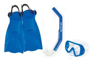 Body Glove Sonic Kid's Mask, Snorkel and Fins Set