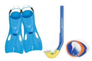 Body Glove Twirl Kid's Mask, Snorkel and Fins Set