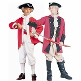 British Red Coat Costumes