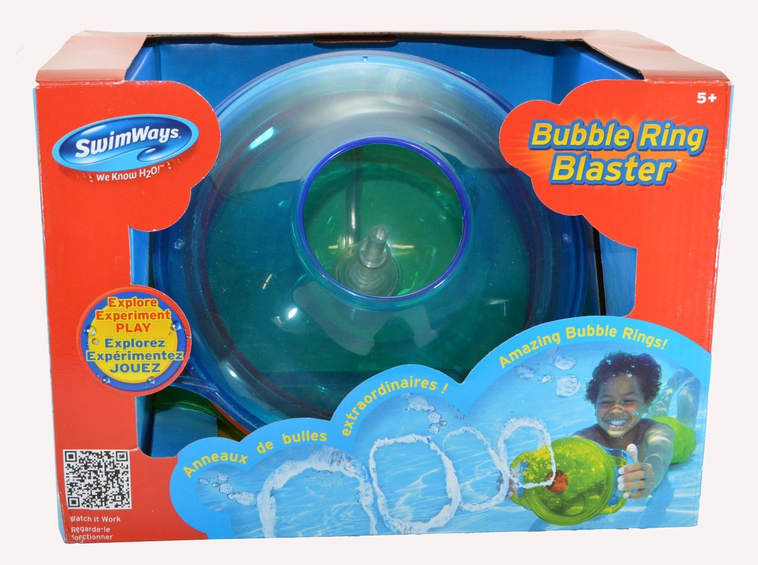 Bubble Ring Blaster Pool Toy