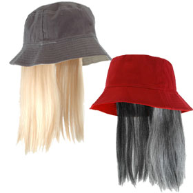 Bucket Hats with Hair f6d53e5af79