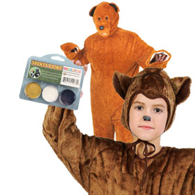 California Golden Bears Game Day Costumes