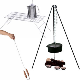 Camping Grills & Stands
