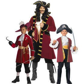 Captain Hook Costumes