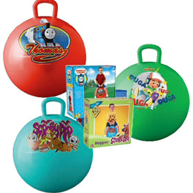 Cartoon Character Hippity Hop Balls
