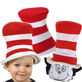 Cat in the Hat Hats
