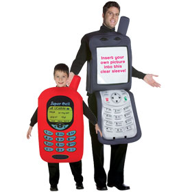 cell phone costumes