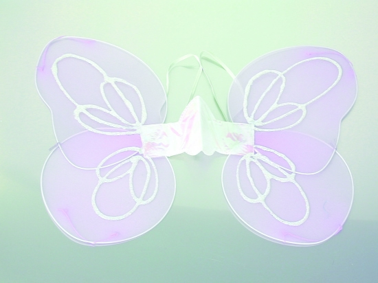"Child 20"" Lavender Fairy Wings"