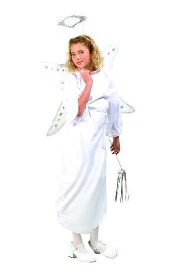 Child Angel W/Halo Costume