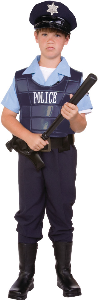 Child Law Enforcer Costume