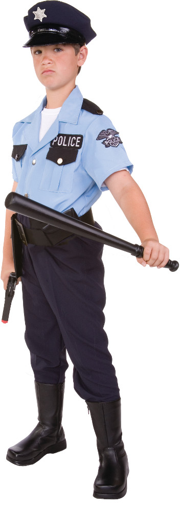 Child On Patrol Costume
