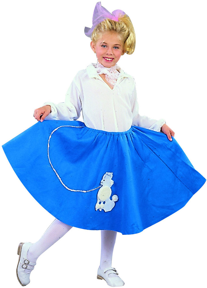 Child Poodle Costume Skirt