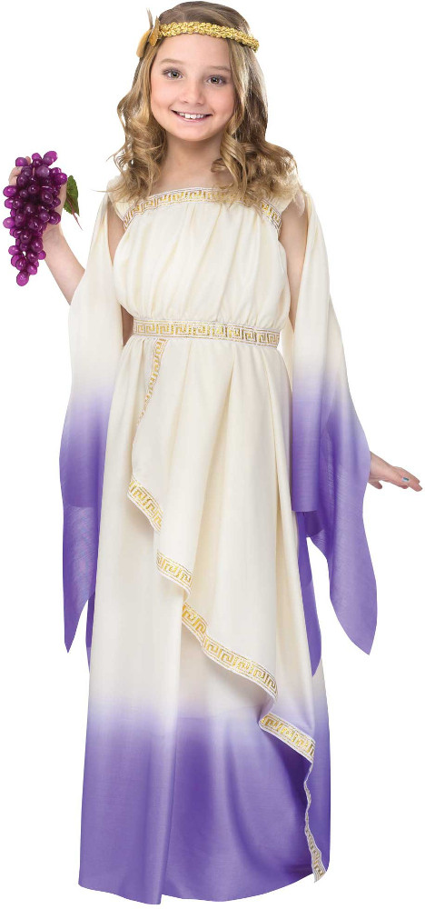 Child Purple Goddess Costume