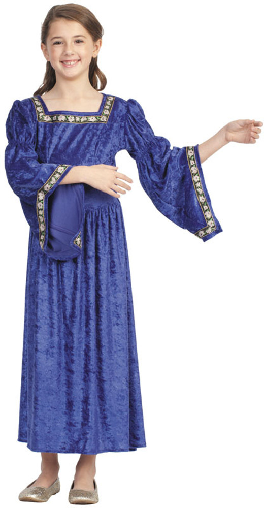 Child Purple Renaissance Bella Costume