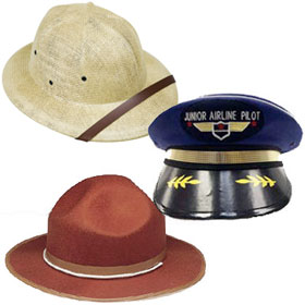 Child's Career Hats