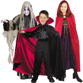 Child's Costume Capes, Cloaks & Robes