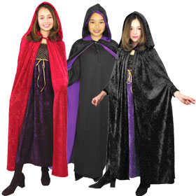 Child's Hooded Capes & Cloaks