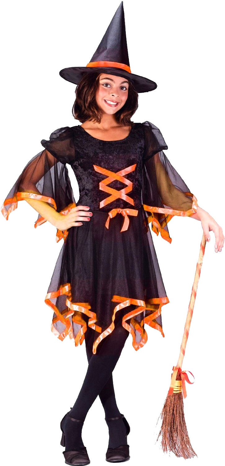 Child's Ribbon Witch Costume