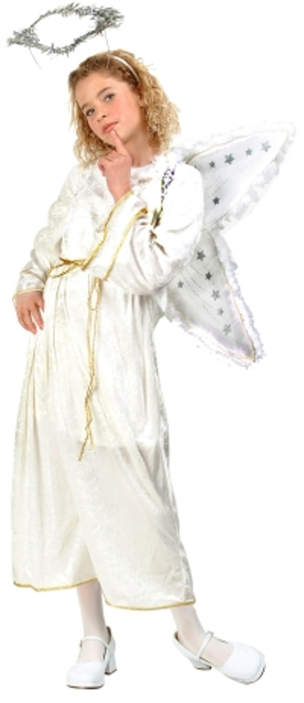 Child Velvet Glamour Angel Costume