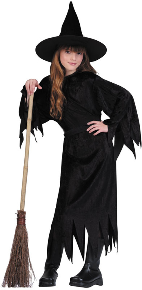 Child Velvet Witch Costume  sc 1 st  Brands On Sale : cheap witches costumes  - Germanpascual.Com