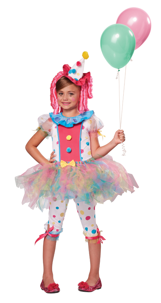 Child Kaleidoscope Klown Costume