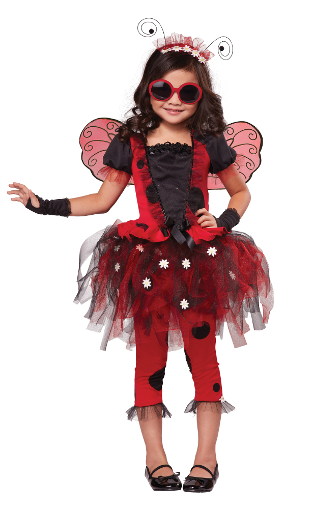 Child Lovely Ladybug Costume