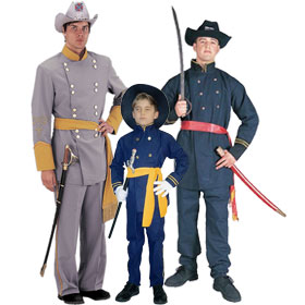 Civil War Soldier Costumes