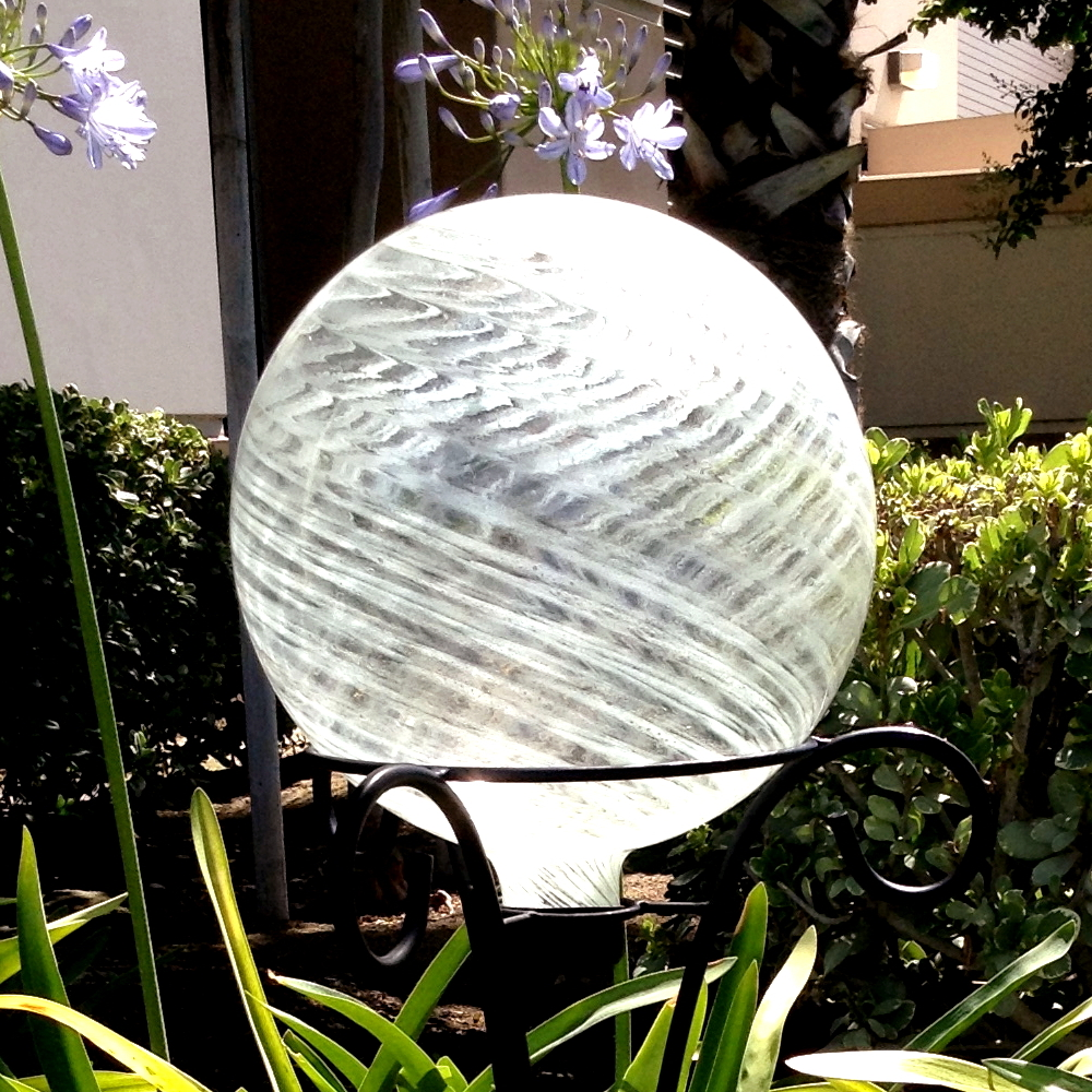 Clear Garden Gazing Ball