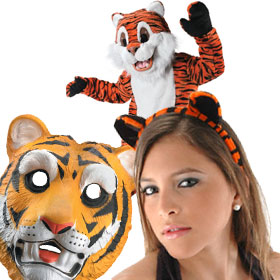 Clemson Tigers Game Day Costumes